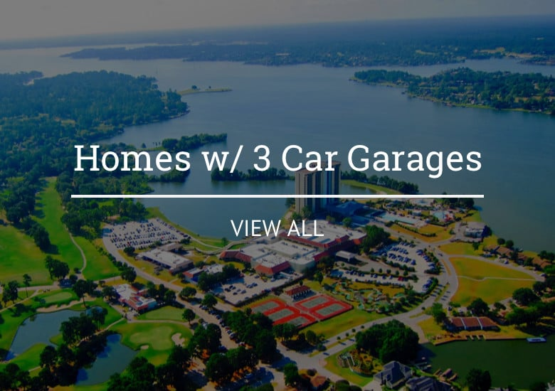 Lake Conroe Homes with 3 Car Garage