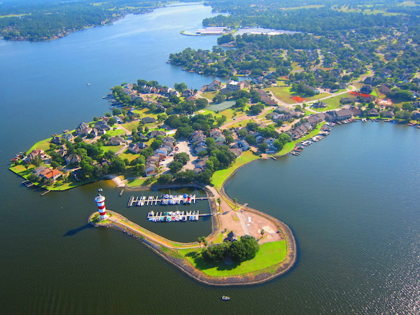 Homes on Lake Conroe