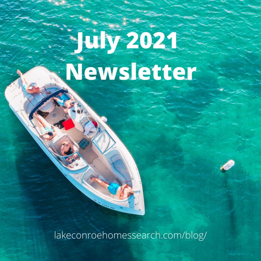 July 2021 Newsletter