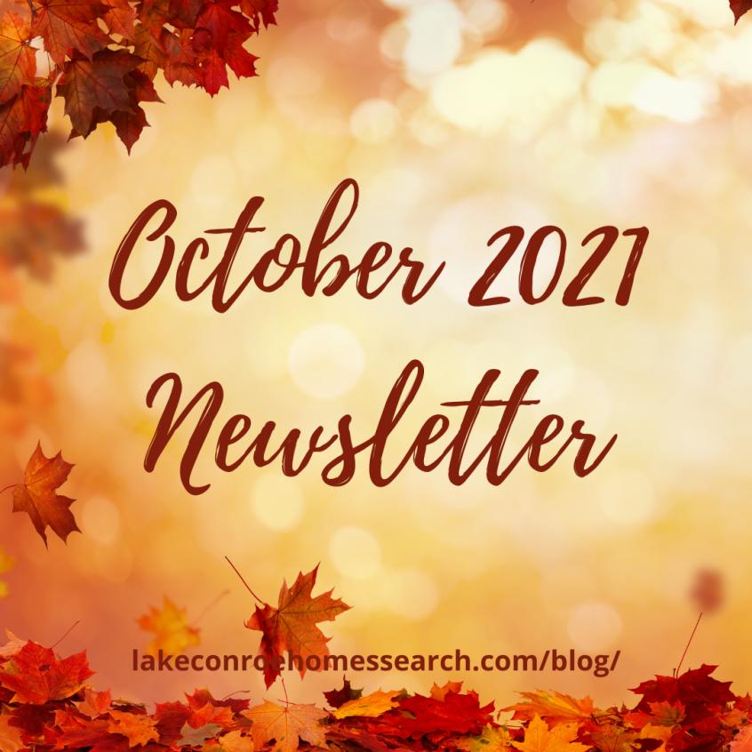 October 2021 Newsletter